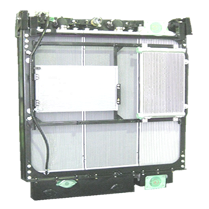 Heat exchanger module for Large-size construction machine