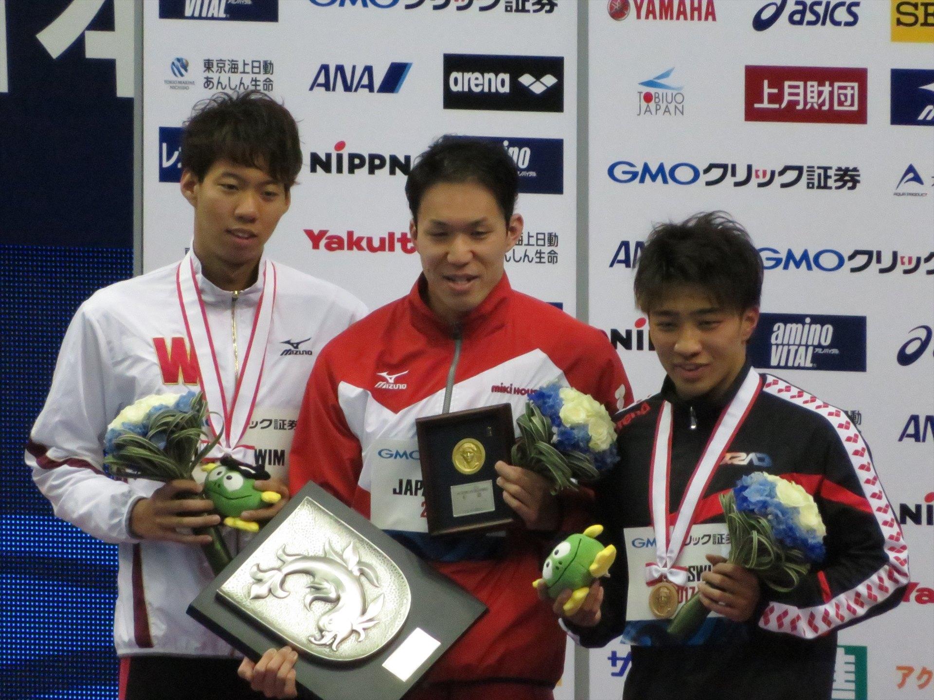 山中祥輝選手 日本選手権100m平泳ぎで銅メダル獲得!!